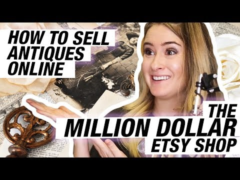 How to sell antique jewelry on etsy - shop critique
