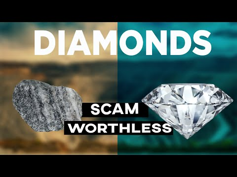 Diamonds are worthless? (under 90 seconds)