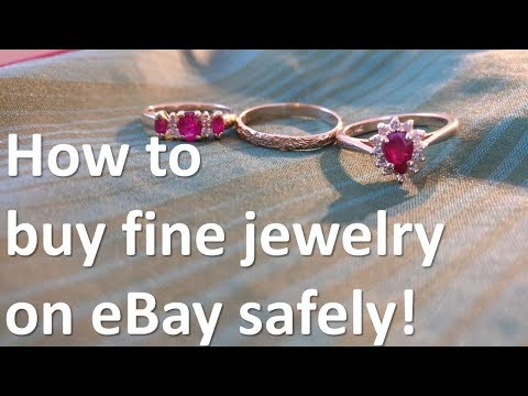 How to buy jewelry from ebay safely!