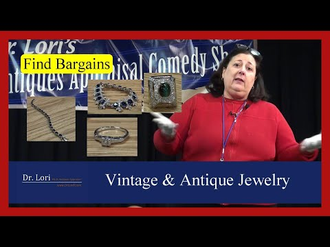 Valuing vintage & antique jewelry: costume jewelry, rings, bracelets, gemstones & watches - dr. lori
