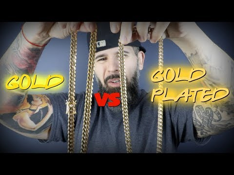 14k gold vs 14k gold plated miami cuban link...differences?