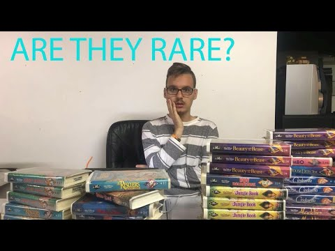 The truth about disney black diamond vhs collection.
