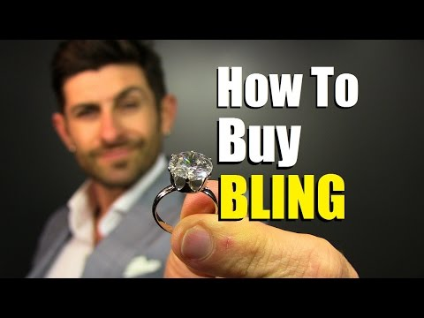 """How to buy """"bling""""   diamond buying tips for dudes   engagement ring shopping tutorial"""