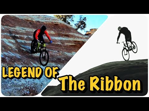 I fear but ride // the legend of the ribbon trail pov film with tagg along mtb