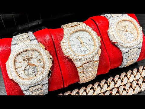 Iced out watches – are bustdown diamond pieces going out of style?