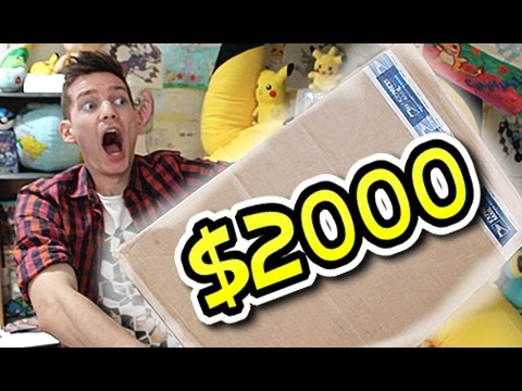 Mail man monday ep #131 ($2000 of rare cards & games!!!)