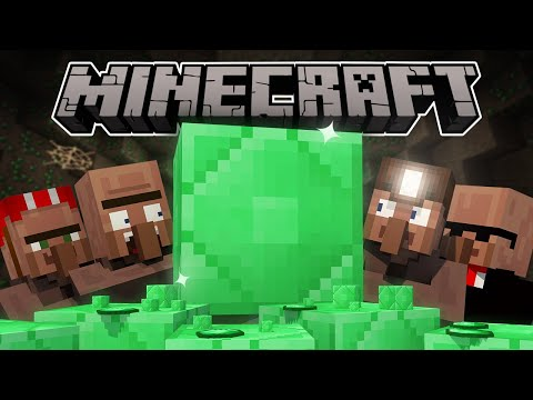 Why emeralds are rare | minecraft animation