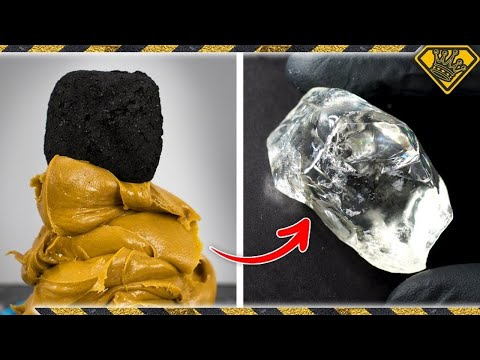 Turning coal into diamonds, using peanut butter! tkor on how to make peanut butter coal crystals