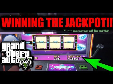 Gta 5 - gambiling 500,000 chips on slot machines!! trying to win the 2.5 million jackpot!!