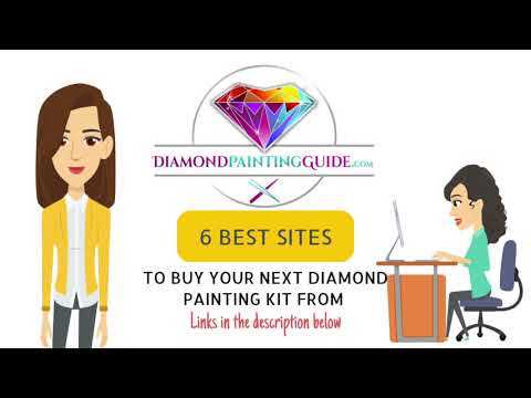 The 6 best places to get your diamond painting kits from