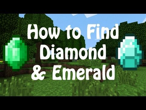 How to find diamond in minecraft [easy]
