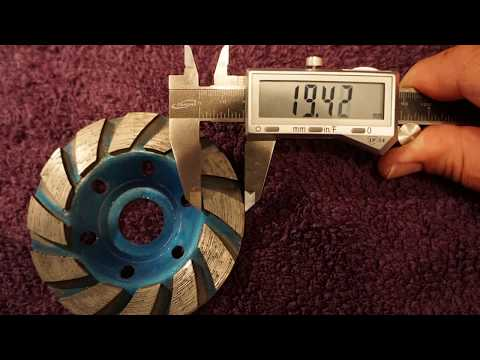 Ocr tm 4 inch concrete turbo diamond grinding cup wheel product review