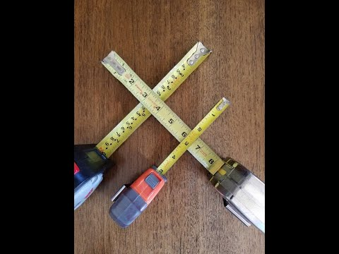 Things you never knew about a tape measure