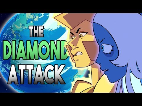 The diamond attack homeworld cover up!? - steven universe wanted theory