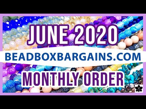 ✨ june 2020   bead box bargains ✨ beaded jewelry making products ✨ online shopping   closeout prices