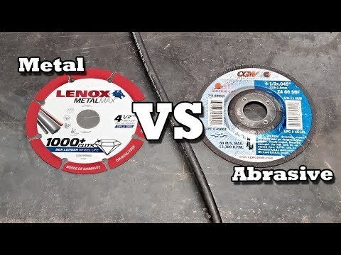 Which cut-off blade is best? diamond or abrasive