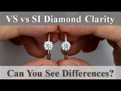 Vs vs si diamond clarity – what they look like in real life