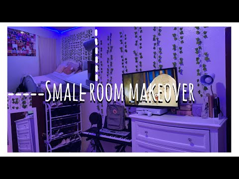 I gave my small room a makeover deep clean w/ me