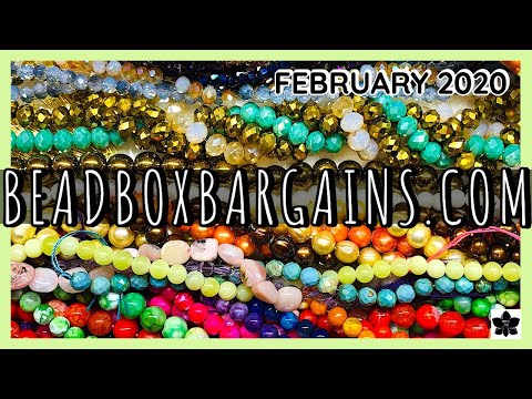 ✨february 2020   bead box bargains ✨jewelry making products ✨online shopping   closeout prices