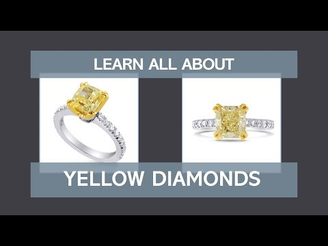 Learn all about yellow diamonds