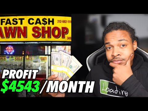 How to start a pawnshop business | $4543 per month
