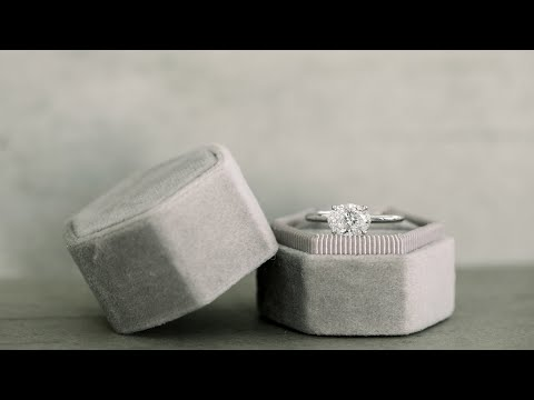 1.5ct east-west oval lab diamond solitaire engagement ring in platinum | ada diamonds