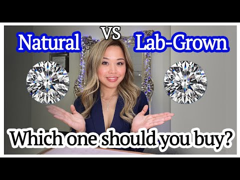 Should you buy a lab grown diamond?   2ct lab grown vs natural diamond comparison   ultimate guide