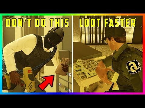 How to make more money during the diamond casino heist missions in gta 5 online! (max payout)