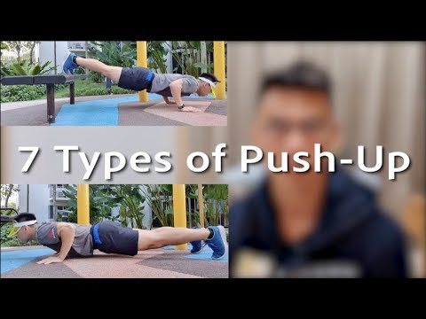 How to do push ups (7 types) for one punch man challenge
