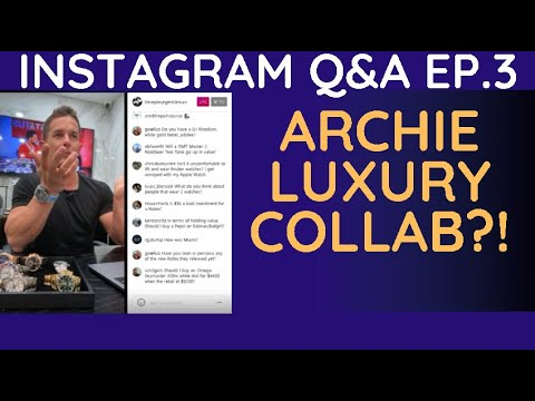 Instagram live q&a with the timepiece gentleman | timestamps included | ep.3