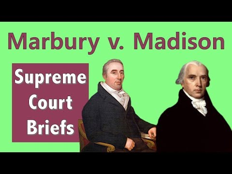 Why the supreme court is relevant | marbury v. madison