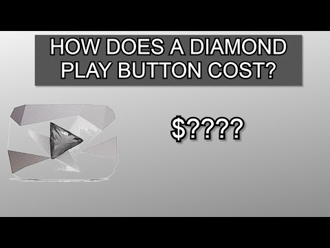 How much does a diamond playbutton cost?