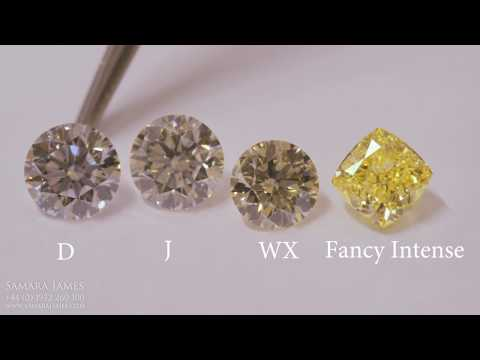 What are fancy yellow diamonds?