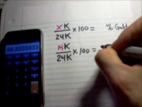 Calculating the value of your scrap gold