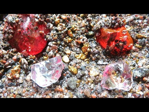 How to find rubies, gold and diamonds!?