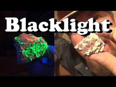 How to find gold   using a   black light - ask jeff williams