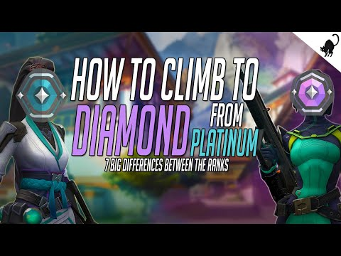 How to get from platinum to diamond in valorant | 7 big differences