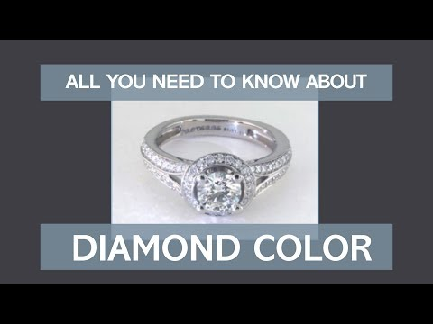 All you need to know about diamond color