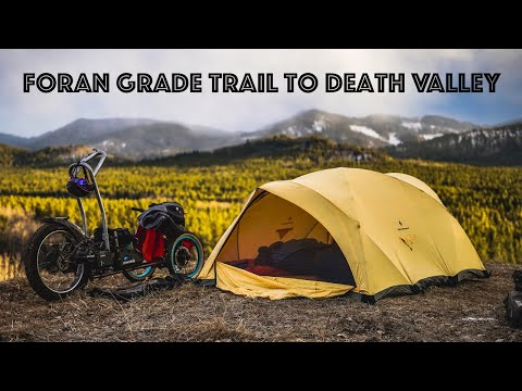 Bikepacking adventure on bowhead reach from foran grade trail to death valley    ep8 will it reach?