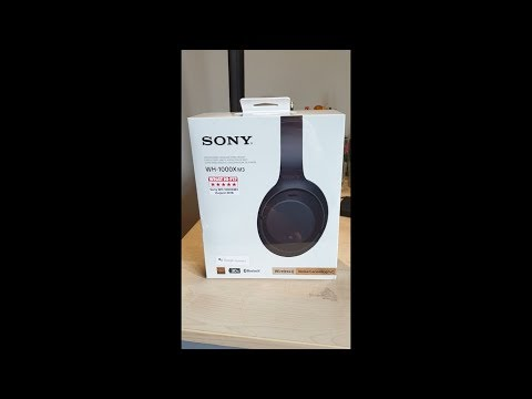 The brilliant sony wh1000xm3 headphones. unboxing and review
