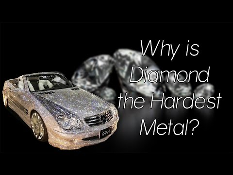 Why is diamond the hardest metal?