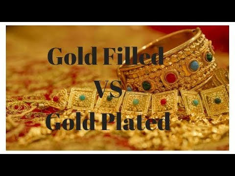 Gold plated vs gold filled jewelry - what's the difference?