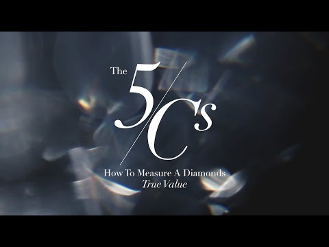 How to measure a diamonds true value using the 5c's