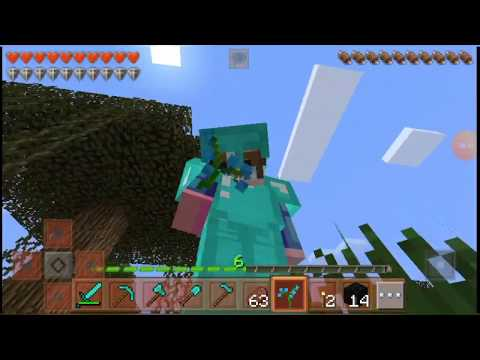 How to make a minecraft diamond armor from scratch.