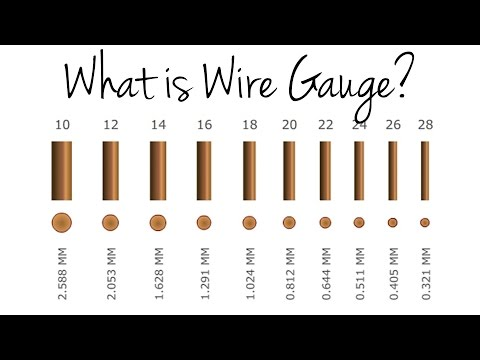 What is wire gauge?