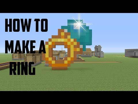 How to build a diamond ring/ minecraft ps4 edition