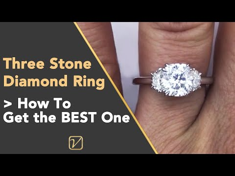 3 stone cushion cut diamond ring - what you must know 2020