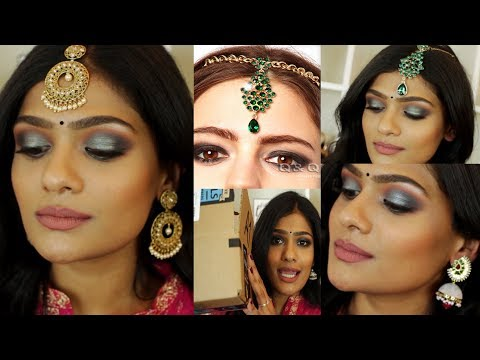Indian jewelry from amazonusa website, try on haul/review | nishitha vunnam