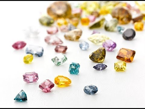 What are the values of colored diamonds?