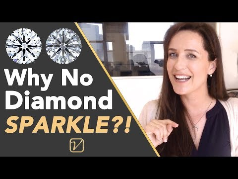 Why some diamonds sparkle and others don't